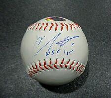 Christian Vazquez Wolrd Series Boston Red Sox Autographed Inscribed Baseball FTA