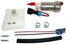 Walbro F90000274 In-Tank E85 Fuel Pump w 400-0085 Installation Kit 450LPH Racing