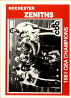 1981-82 TCMA CBA Basketball Cards Pick From List