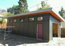 Modern Studio Garage Plans Mancave Building Plan Contemporary Shed ADU office