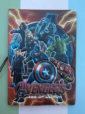 Los Vengadores Edad de Ultron pasaporte id de viaje de identidad cubrir titular Marvel Regalo