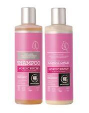Shampoo e balsamo biologici secco per capelli