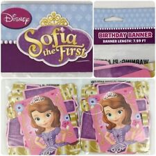 2 Pack- Sophia The First Birthday Banner Party Supplies Free Shipping