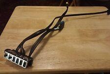 HP Prodesk OEM Desktop Front Panel Audio USB Board 804290-001 & Cables