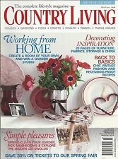 Country Living magazine Party ideas Simple pleasures Decorating inspiration