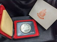 1972 - Canadian Silver Dollar - Voyager w/ Case and Box (C1)