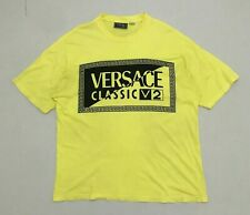 Vintage VERSACE CLASSIC V2 Authentic Made In italy Oversize To XL/Luxury