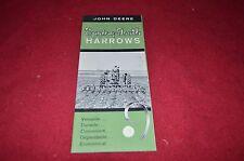 John Deere Spring Tooth Harrows Dealer's Brochure Dcpa2