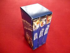 BACK TO THE FUTURE TRILOGY 2002 VHS 3 TAPE BOX SET LIKE NEW!