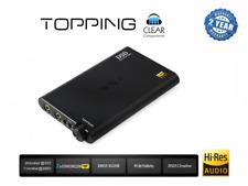TOPPING nx4-BLACK-USB DAC DSD PORTABL KHV mobile convert poiché CONVERTITORE Highend
