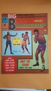 Vintage Boxing Illustrated + Wrestling News Magazine. Oct. 1968. Ali. Teo Cruz.