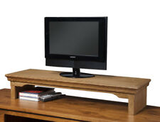 LED TV Riser Stands Traditional Oak-6 Finish Options