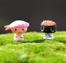FD3541 Miniature Dollhouse Garden Craft Fairy Bonsai DIY Decor ~Sushi Baby~ 1PC