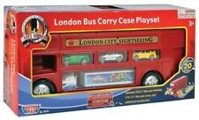 London Bus Carry Case With Cars & Accessories Children Bus & Cars Playset Toy