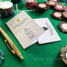 James Bond 007: Casino Royale - Prop 'Hotel Splendide' Room Key Card and Wallet