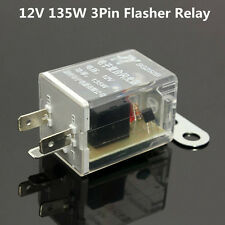 12V 3Pin 135W Car LED Light Flasher Relay Turn Signal Rate Control Blinker Relay