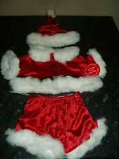 BUILD A BEAR CHRISTMAS SANTA OUTFIT  NEW WITH TAGS