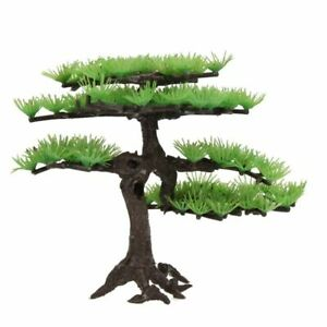 Plastic Plant For Aquarium Bonsai Tree Rockery Artificial Plant Aquarium Ornamen
