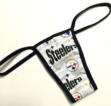 NFL PITTSBURGH STEELERS NEW PRINT PANTY/THONG XS/SML CHECK OUT MY EBAY STORE