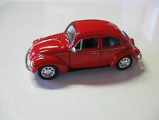 1:38 SCALE WELLY VW VOLKSWAGEN BEETLE DIECAST PULLBACK W/O BOX