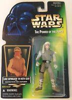 Star Wars LUKE SKYWALKER HOTH POTF Power Of The Force Action Figure 1996 NEW