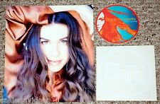 Alanis Morissette 3pc Photo + Sticker Lot Under Rug Swept