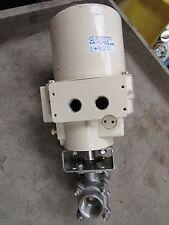 """NEW EL-O-MATIC ELECTRIC ROTARY VALVE ACTUATOR EL-35 EL35 120V 1"""" SOCKET WELD"""