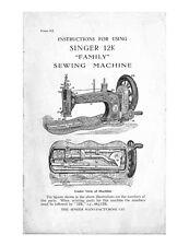 Singer 1512-PROMISE Sewing Machine/Embroidery/Serger Owners Manual