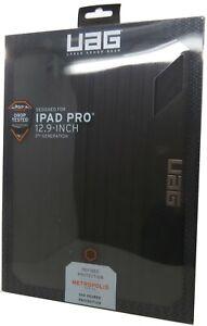 "UAG Metropolis Folio 360 Protection Case for Ipad Pro 12.9"" 3rd Gen Black"