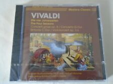 VIVALDI THE FOUR SEASONS SEALED 80's CD Sudwest Orch. Muncher Masters Classic