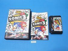 USED Sonic The Hedgehog 3 sega mega drive megadrive From Japan 30241a