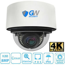 8Mp 2160p @30fps 4K Ip 4X Optical Motorized Zoom Dome PoE Security Camera
