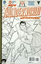 DC New 52 Multiversity THUNDERWORLD ADVENTURES #1 1:10 B&W Sketch Variant NM