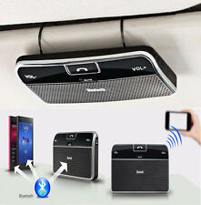 Silm Wireless Bluetooth Handsfree Speaker Phone MP3 Car Kit Sun Visor Clip Drive