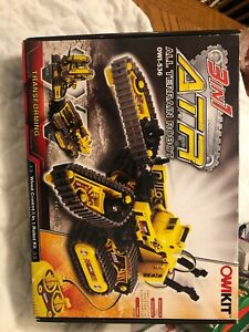 ATR OWIKIT OWI-536 All Terrain Transforming Robot Wired Control 3in1 Opened Box