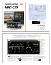 "REPLICA of JRC NRD-525 BROCHURE 4 x 8 1/2x11"" PAGES PRINTED 11x17"" DUAL SIDED"