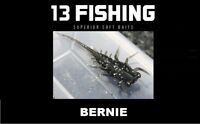13 Fishing BERNIE Superior Soft Baits (6 Per Pack) CHOOSE YOUR COLOR