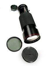 Super TOKINA AT-X SD CANON FD MOUNT 100-300mm f/4 ZOOM LENS w/ Polarizing, Caps