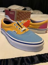 Vans Era Canvas Multi Bright Shoes Womens Size 5.5