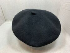 New With Tag Stetson 100% Wool French Beret Adelaide Black One Size