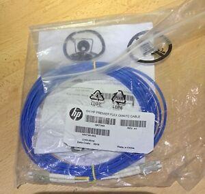 QK734A 5M HP Premier FLEX OM4 LC-LC duplex FC Cable 653728-003 Factory Sealed.