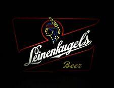 Leinenkugel'S beer vtg Neo-Neon Light-Up sign Wisconsin