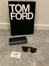 Saint Laurent Sunglasses Rounded Lenses Slim Havana Brown 002 - RRP £265