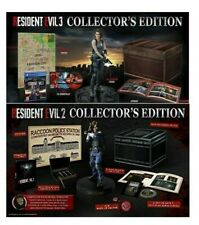 RESIDENT EVIL 2 COLLECTOR'S PS4  + RESIDENT EVIL 3 COLLECTOR'S PS4 ITALIA