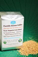 Purelife Organic Green Bean Enema Coffee  - Air Roasted - Mold Free
