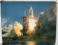 NASA SPACE SHUTTLE COLUMBIA STS-1 LAUNCH 16x20 PHOTO 1981