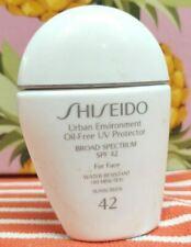 Shiseido ~ URBAN ENVIRONMENT OIL-FREE UV PROTECTOR ~ SPF 42 Face Sunscreen 1 oz!