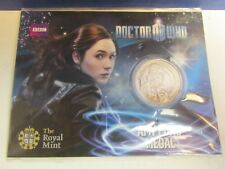 NEW dr doctor who AMY POND MEDAL COIN the royal mint BBC david tennant 64D