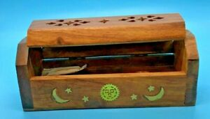 Mini Incense Coffin Box Holder - Celestial