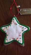 CHRISTMAS Gingerbread Cookie ~STAR ORNAMENT NEW Xmas Tree Decoration ROMAN